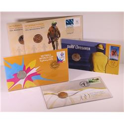 Australia, Philatelic Numismatic Covers, Twenty Cents, 2007-15