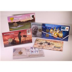 Australia, Philatelic Numismatic Covers, One Dollar, 2009-15