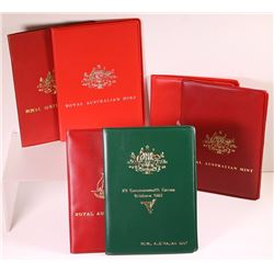 Australia, Uncirculated Sets, 1974-83