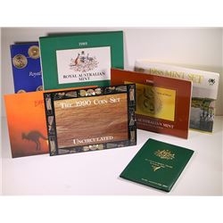 Australia, Uncirculated Sets, 1982-90