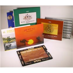 Australia, Uncirculated Sets, 1984-90
