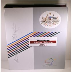 Australia, Centenary of Federation Uncirculated Collection, 2001