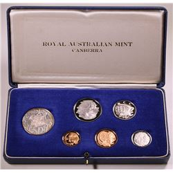 Australia, Proof Sets, 1966