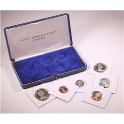 Australia, Proof Set, 1966