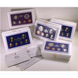 Australia, Proof Sets, 1974-78