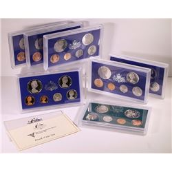 Australia, Proof Sets, 1975-84