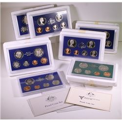 Australia, Proof Sets, 1978-84