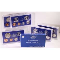 Australia, Proof Sets, 1981