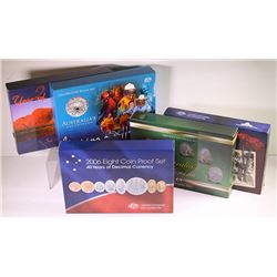 Australia, Proof Sets, 2002-06