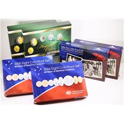 Australia, Proof Sets, 2004-06