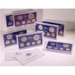 Australia, Proof Sets, 1972-80