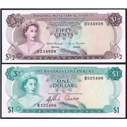 Bahamas, Fifty Cents - One Dollar, Accumulation (P.18a-26a)