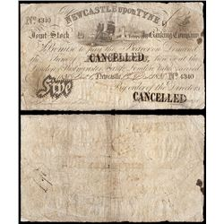 Great Britain, Newcastle Upon Tyne, Join Stock, Ten Pounds (O.151b), 1838, aFine