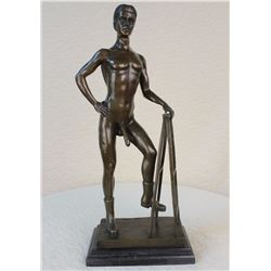 Nude Male Statue Man Sculpture Gay Art Bronze Statues