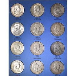 Benjamin Franklin Half Dollar Set