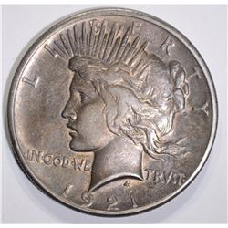 1921 PEACE DOLLAR XF-AU  KEY COIN