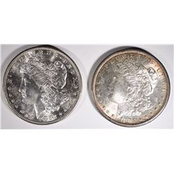 MORGANS CHOICE BU; 1881-S & 1882-S