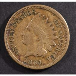 1864 INDIAN HEAD CENT VF-XF CN