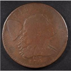 1794 LIBERTY CAP LARGE CENT, G+