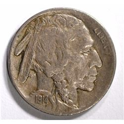 1914-S BUFFALO NICKEL XF/AU