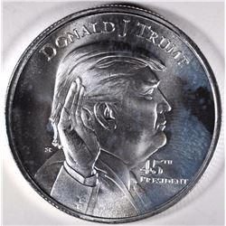 DONALD TRUMP ONE OUNCE .999 SILVER ROUND