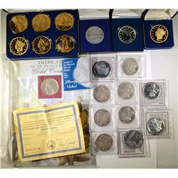 REPLICA / COPY LOT: 9 - MORGAN DOLLAR REPLICAS