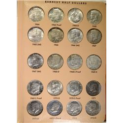 KENNEDY HALF DOLLAR SET 1964 thru 1992