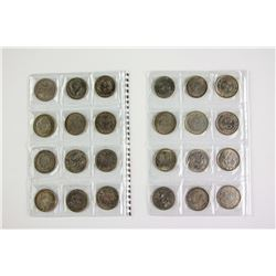 Twenty-Four Assorted Chinese Silver Coins