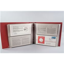 1977 Canadian Postmasters Full 30-Coin Set