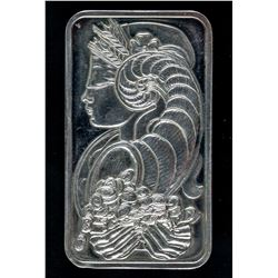 Fine Silver Wafer Bar Suisse Lady Fortuna Veriscan