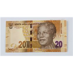 South Africa 20 Rand Bill Note