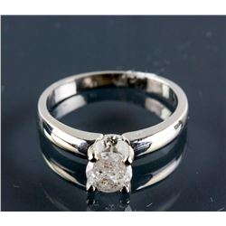 14K White Gold 0.70ct Diamond Ring