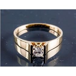 14k Yellow Gold 0.25ct SI2 Diamond Ring