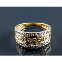 14k Yellow & White Gold Ring