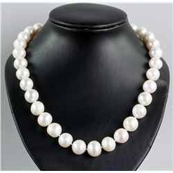 14k Yellow Gold Clasp Pearl Necklace CRV$1200