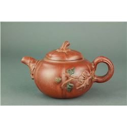 Chinese Zisha Teapot Signed by Artist