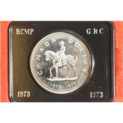 1973 CANADA RCMP SILVER DOLLAR PROOF
