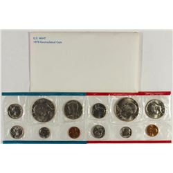 1978 US MINT SET (UNC) P/D (WITH ENVELOPE)