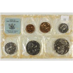 1968 NEW ZEALAND POLISHED STANDARD SPECIMEN SET