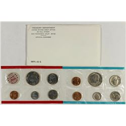 1971 US MINT SET (UNC) P/D/S (WITH ENVELOPE)