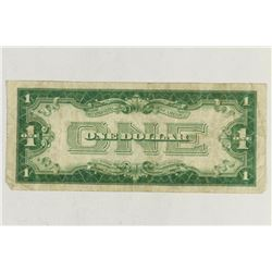 1928-A $1 FUNNY BACK SILVER CERTIFICATE