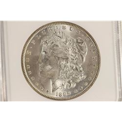1889 MORGAN SILVER DOLLAR NGC MS64