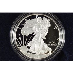 2013-W PROOF AMERICAN SILVER EAGLE