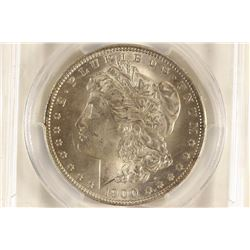 1900-O MORGAN SILVER DOLLAR PCGS MS63+