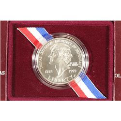 1993-P THOMAS JEFFERSON 250TH ANNIVERSARY
