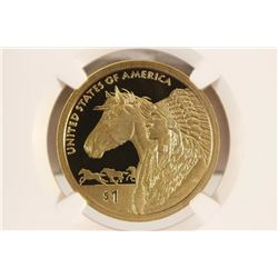 2012-S SACAGAWEA DOLLAR 17TH CENTURY TRADE ROUTES