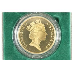 1988 AUSTRALIA $5 PROOF ROYAL AUSTRALIAN MINT