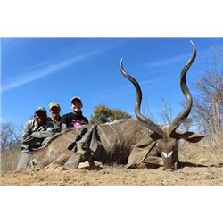 South African Hunt for Kudu, Red Hartebeest, Waterbuck, Reedbuck, Porcupine and Jackal