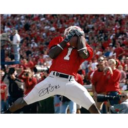 Reggie Brown Signed Georgia 11x14 Photo (Radtke COA)