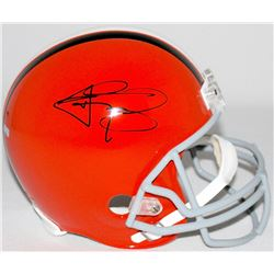 Johnny Manziel Signed Browns Full-Size Helmet (Panini Hologram)